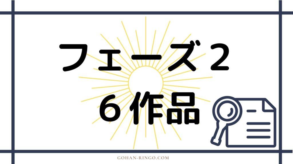 【MCU】マーベル映画公開順:フェーズ2