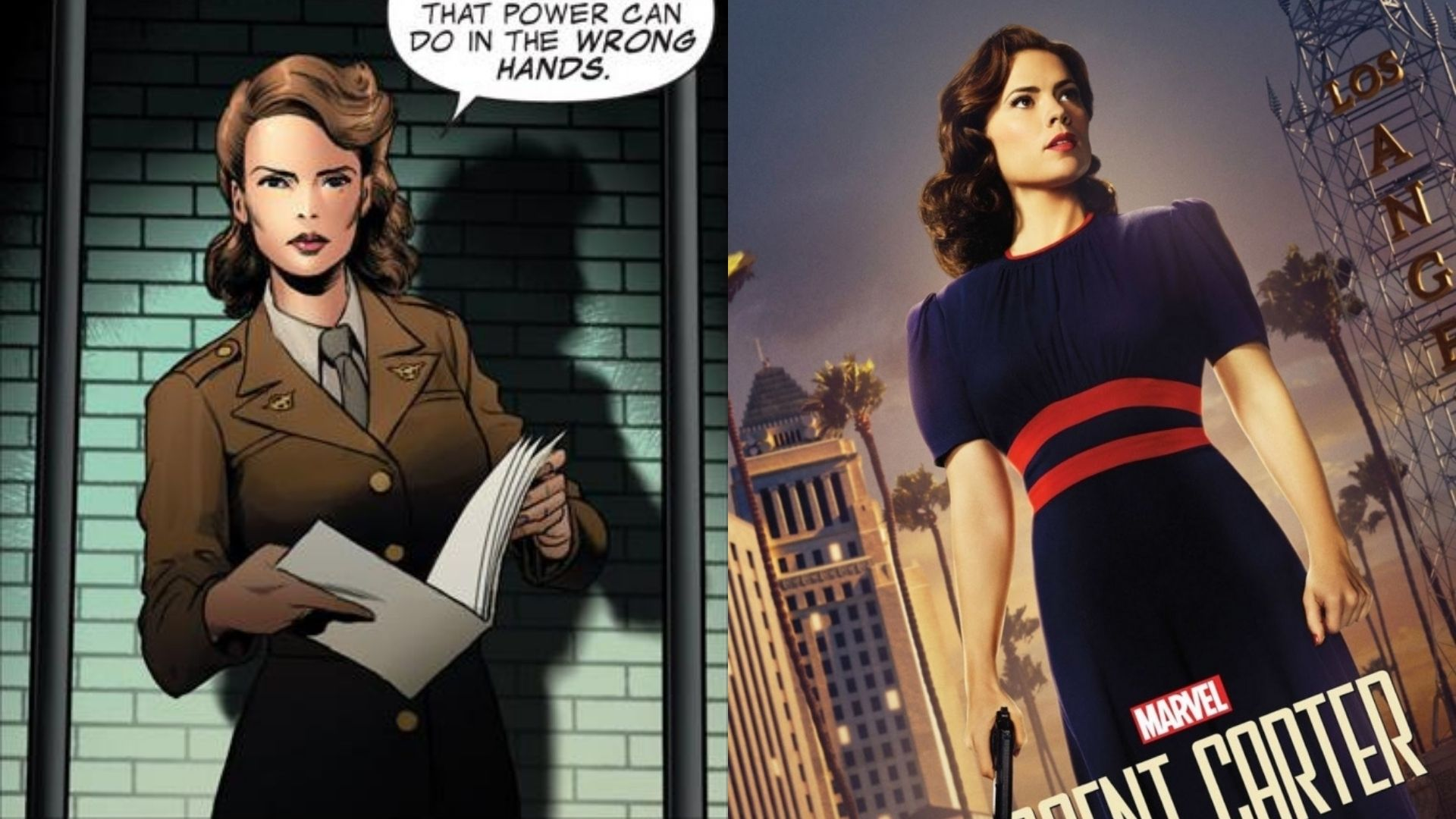 【キャプテン・アメリカ】ペギー・カーターの強さ・能力について解説!【マーベル原作】