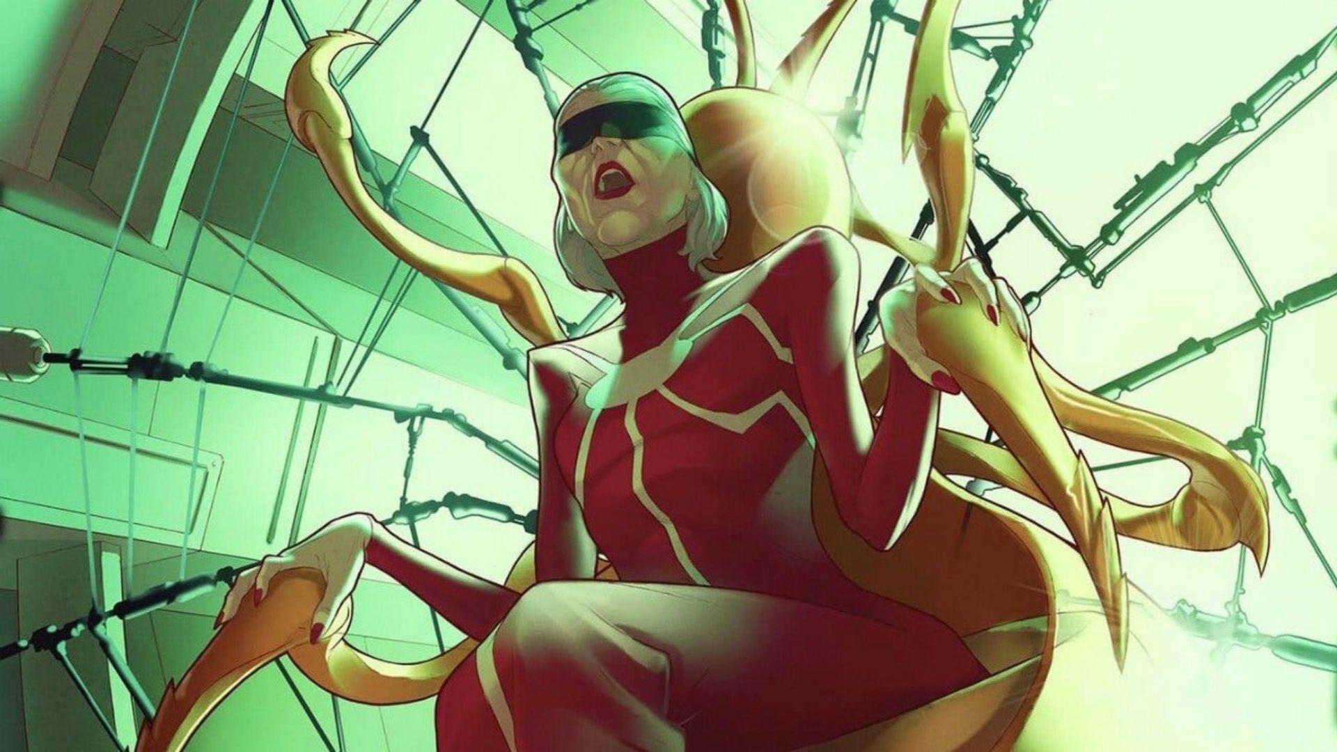 【スパイダーマン】マダム・ウェブの強さ・能力について解説!【マーベル原作】