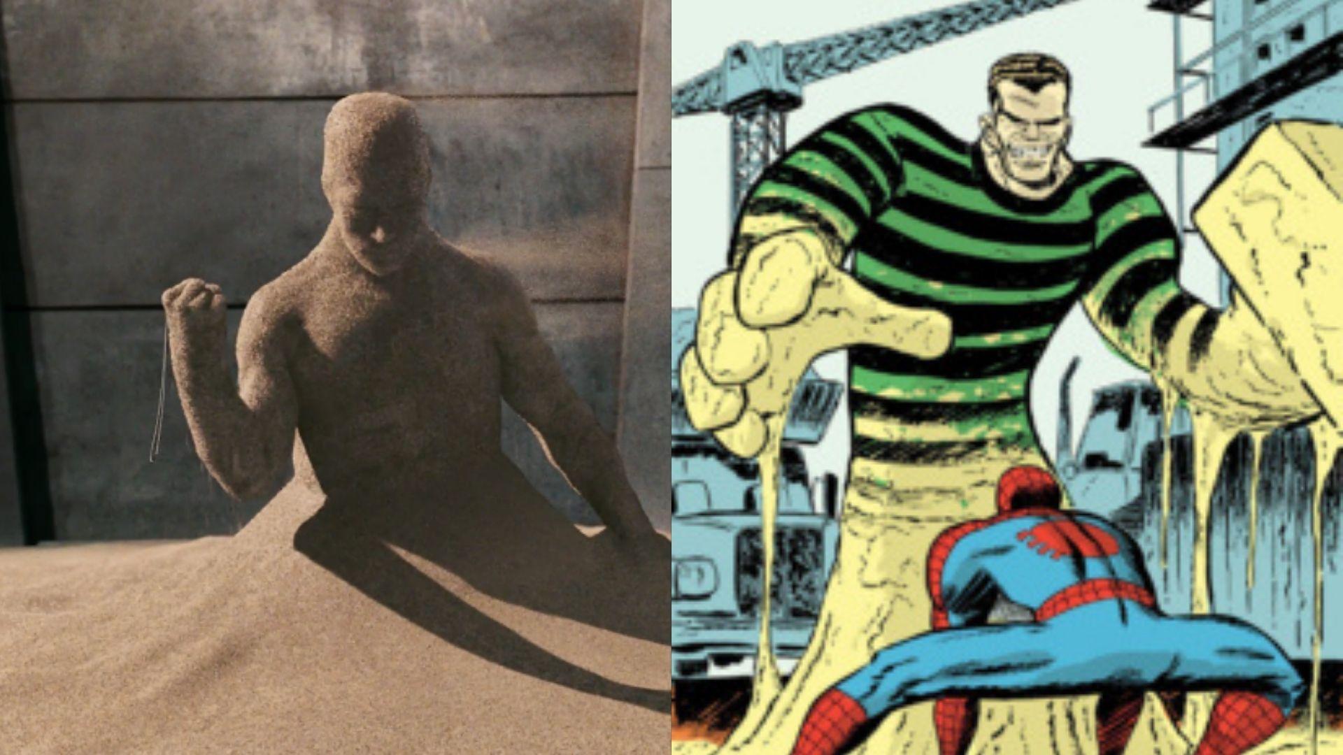 【スパイダーマン】サンドマンの強さ・能力・活躍・誕生について解説!【マーベル原作】