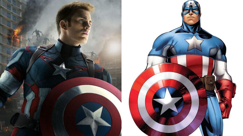 キャプテン・アメリカの誕生・能力・活躍